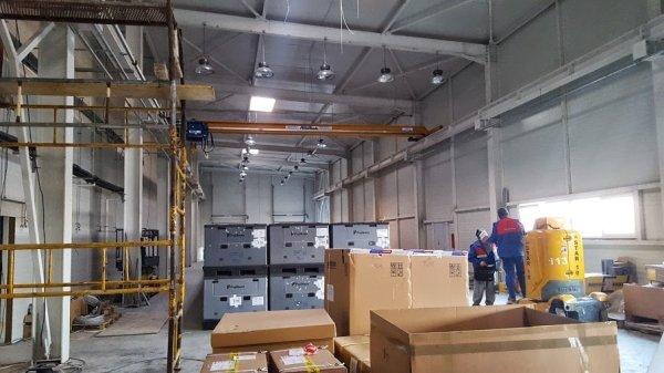 Fujikura România și Moldova - Hale de producție