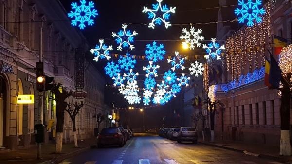 Primaria Dej - Iluminat festiv