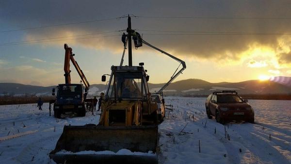 Electrica SA - Recondiționare rețea 20kV Dej-Ileanda